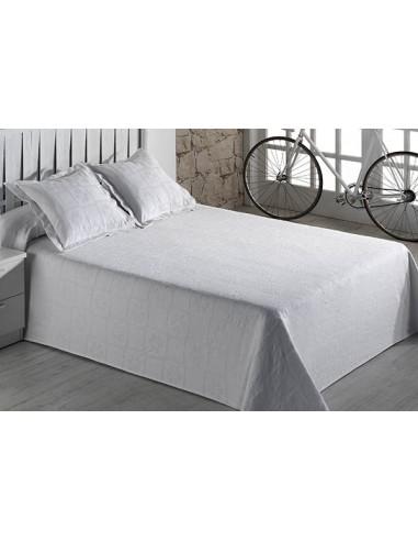 Colcha pique algodón cama  modelo Marín
