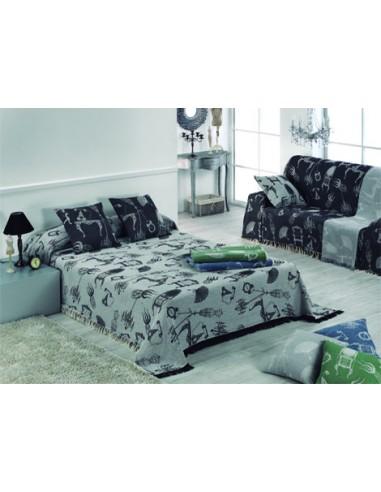 Colcha Multiusos jacquard cama...