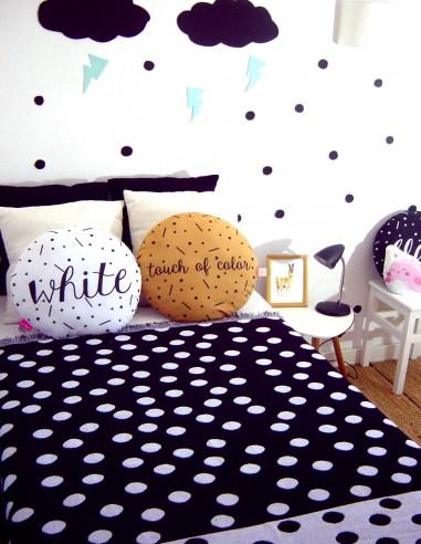 Manta plaid algodón cama infantil...