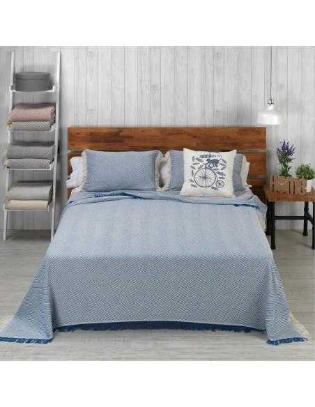 Colcha multiusos cama sofá modelo Espiga